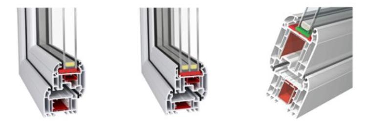 Profils PVC sur mesure fenetre Idéal 70 ouverture vers l'extérieur